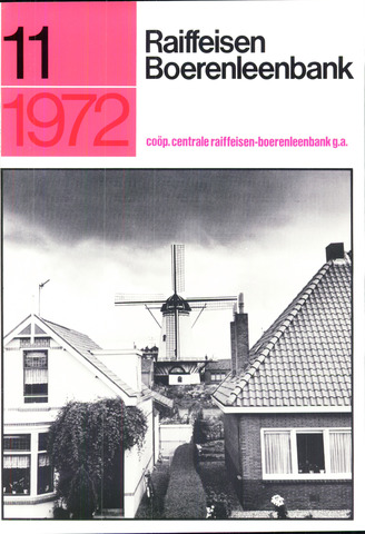 blad 'Raiffeisen Boerenleenbank' 1972-11-01