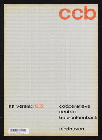 Jaarverslagen Coöperatieve Centrale Boerenleenbank 1962-12-31