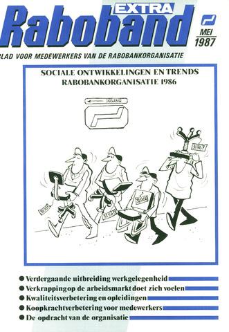blad 'Raboband' 1987-05-01