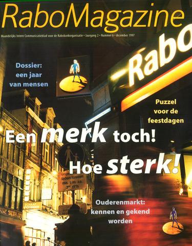 blad 'RaboMagazine' 1997-12-01