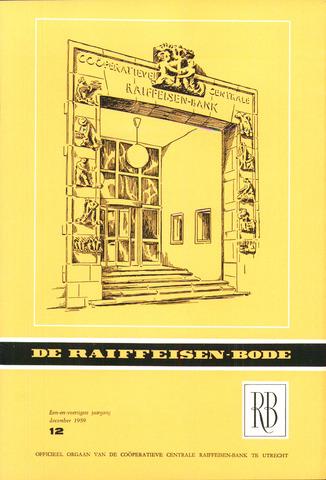 blad 'De Raiffeisen-bode' (CCRB) 1959-12-01