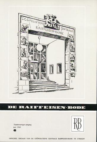 blad 'De Raiffeisen-bode' (CCRB) 1960-06-01