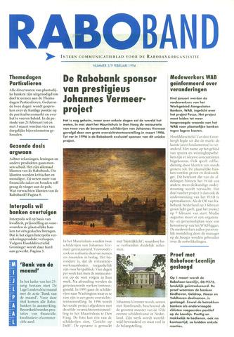 blad 'Raboband' 1994-02-09