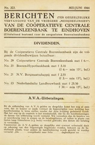blad 'Maandelijkse Mededelingen' (CCB) 1944-05-01