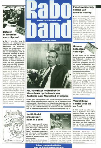 blad 'Raboband' 1989-11-24
