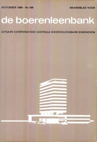 blad 'de boerenleenbank' (CCB) 1968-11-01
