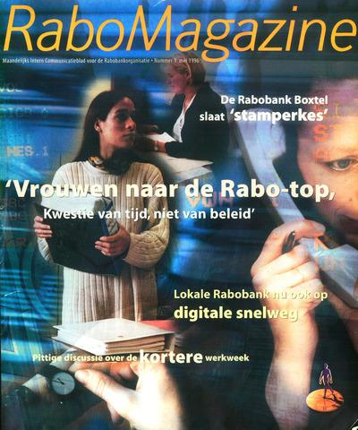 blad 'RaboMagazine' 1996