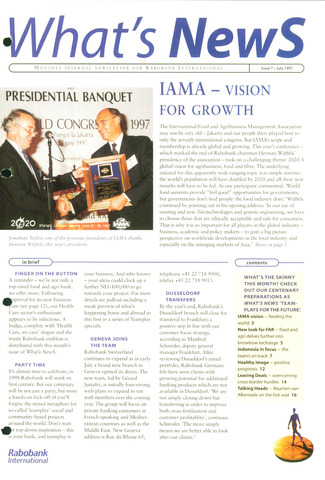 blad 'What's news' (EN) 1997-07-01