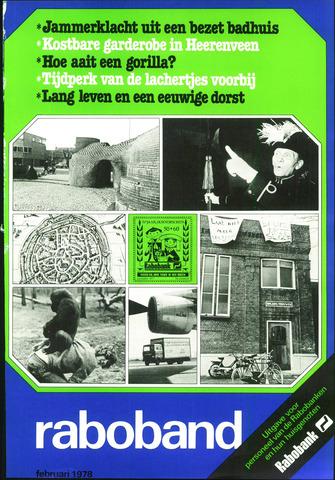 blad 'Raboband' 1978