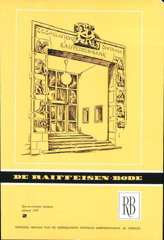blad 'De Raiffeisen-bode' (CCRB) 1959-02-01