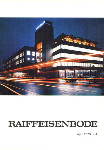 blad 'De Raiffeisen-bode' (CCRB) 1970-04-01