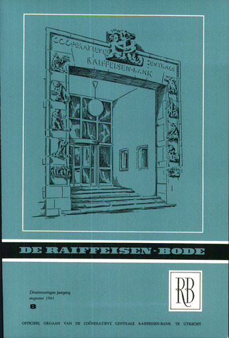 blad 'De Raiffeisen-bode' (CCRB) 1961-08-01