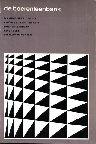 blad 'de boerenleenbank' (CCB) 1970-07-01