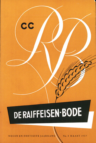 blad 'De Raiffeisen-bode' (CCRB) 1957-03-01