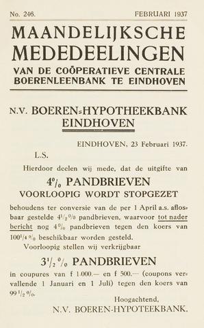 blad 'Maandelijkse Mededelingen' (CCB) 1937