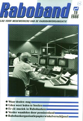 blad 'Raboband' 1986-11-05