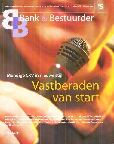 blad 'Bank & Bestuurder' 2002-09-01