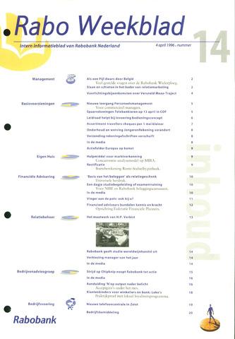 Rabo Weekblad 1996-04-04