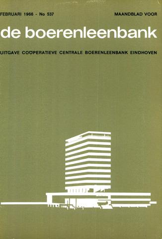 blad 'de boerenleenbank' (CCB) 1966-02-01