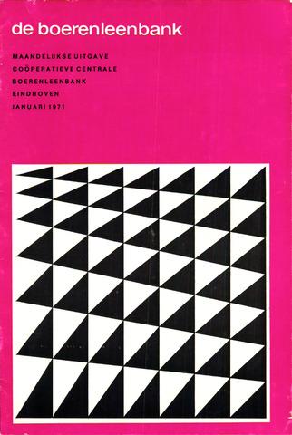 blad 'de boerenleenbank' (CCB) 1971