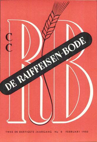 blad 'De Raiffeisen-bode' (CCRB) 1950-02-01