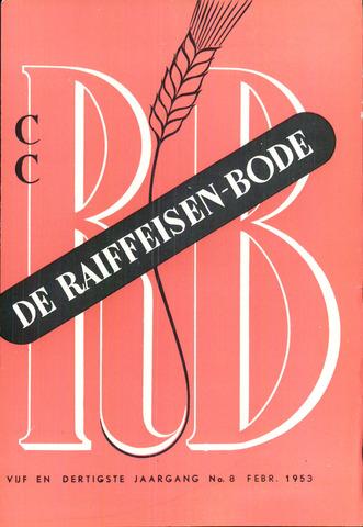 blad 'De Raiffeisen-bode' (CCRB) 1953-02-01