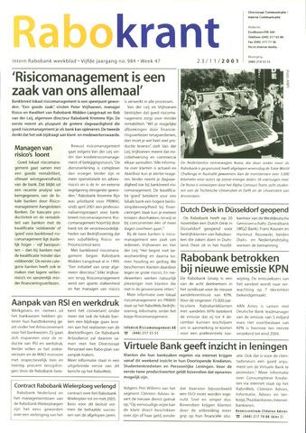 Rabokrant 2001-11-23