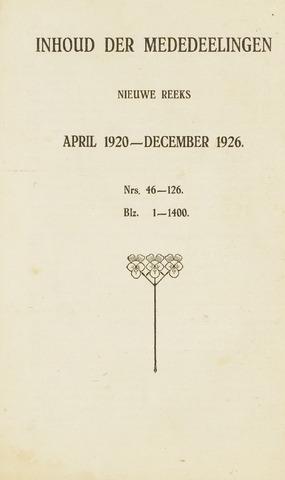 blad 'Maandelijkse Mededelingen' (CCB) 1923-04-01