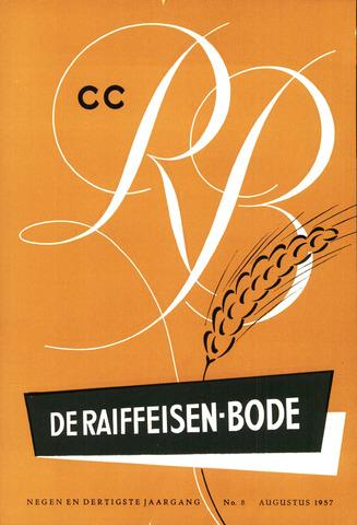 blad 'De Raiffeisen-bode' (CCRB) 1957-08-01