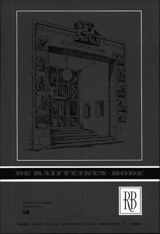 blad 'De Raiffeisen-bode' (CCRB) 1962-12-01