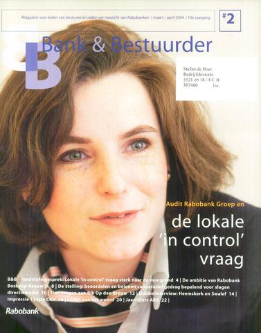 blad 'Bank & Bestuurder' 2004-03-01