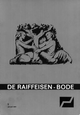 blad 'De Raiffeisen-bode' (CCRB) 1965