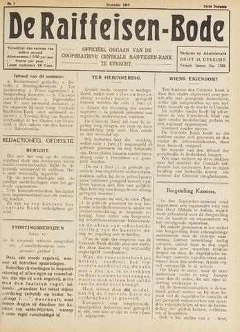 blad 'De Raiffeisen-bode' (CCRB) 1917-11-01