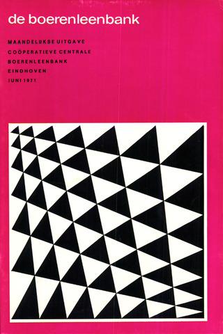 blad 'de boerenleenbank' (CCB) 1971-06-01