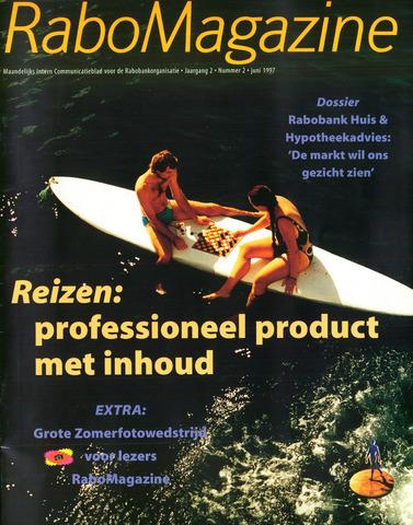 blad 'RaboMagazine' 1997-06-01