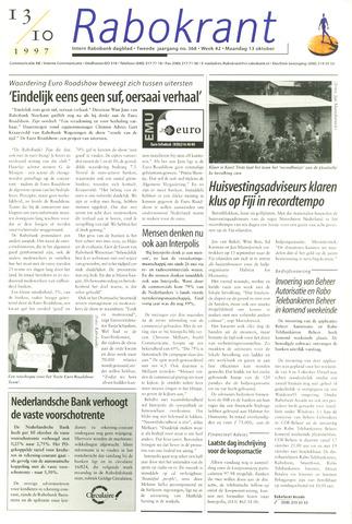 Rabokrant 1997-10-13
