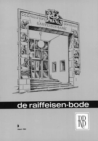 blad 'De Raiffeisen-bode' (CCRB) 1963-03-01