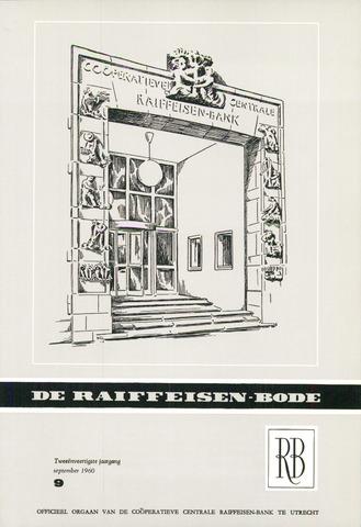 blad 'De Raiffeisen-bode' (CCRB) 1960-09-01