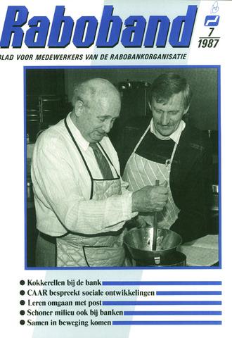blad 'Raboband' 1987-05-20