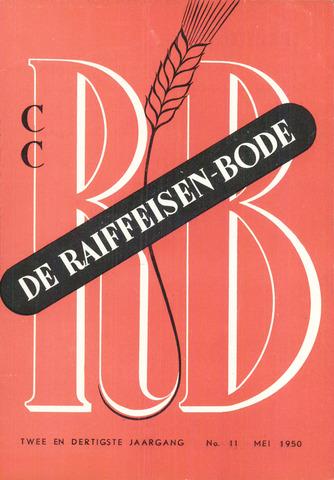blad 'De Raiffeisen-bode' (CCRB) 1950-05-01
