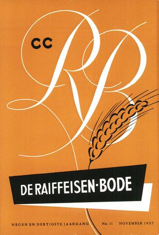 blad 'De Raiffeisen-bode' (CCRB) 1957-11-01