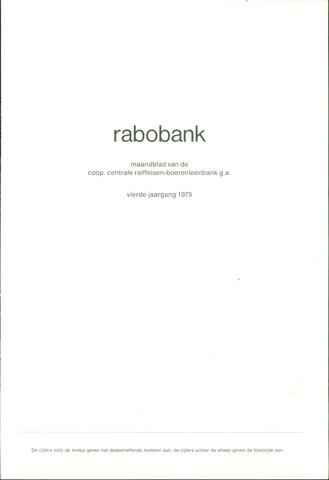 blad 'Rabobank' 1975