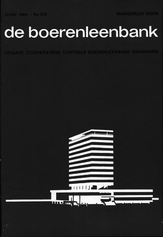 blad 'de boerenleenbank' (CCB) 1964-06-01