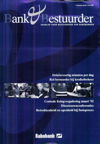 blad 'Bank & Bestuurder' 1992