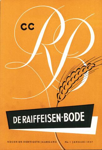 blad 'De Raiffeisen-bode' (CCRB) 1957-01-01