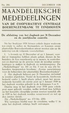 blad 'Maandelijkse Mededelingen' (CCB) 1938-12-01