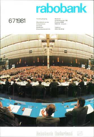blad 'Rabobank' 1981-06-01