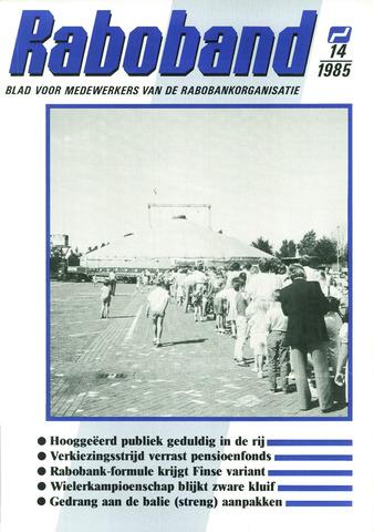 blad 'Raboband' 1985-10-16