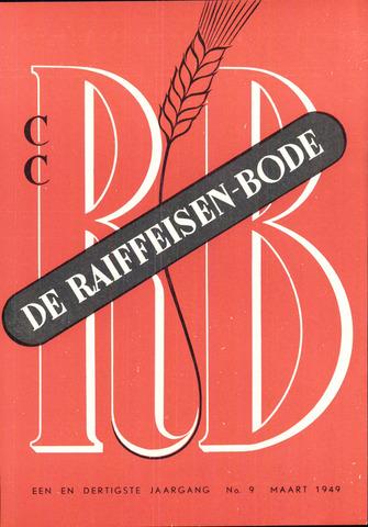 blad 'De Raiffeisen-bode' (CCRB) 1949-03-01