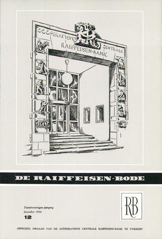blad 'De Raiffeisen-bode' (CCRB) 1960-12-01